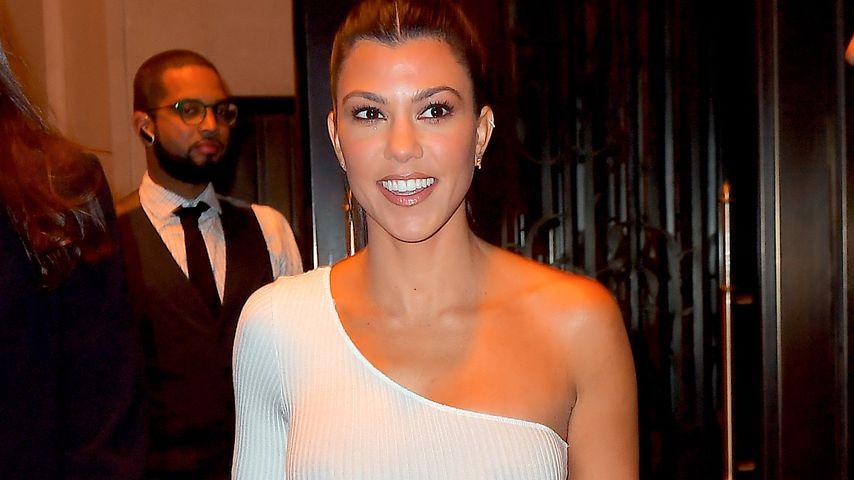 Kourtney Kardashian in New York