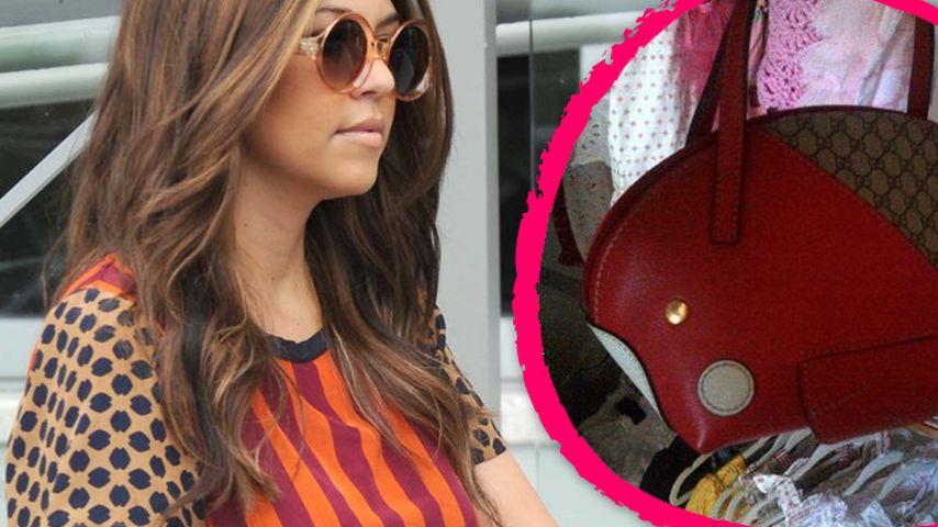 Kourtney Kardashian: Gucci-Tasche für das Baby