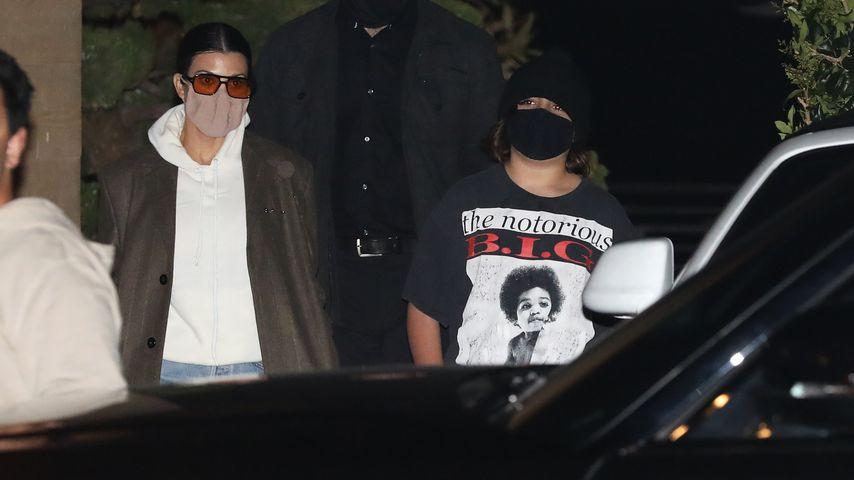 Kourtney Kardashian mit ihrem Sohn Mason Disick