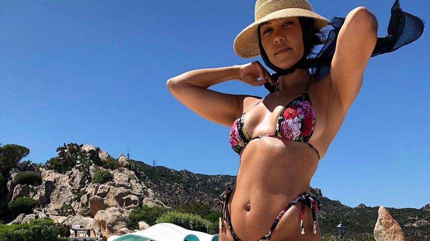 Kourtney Kardashian in Italien 2019