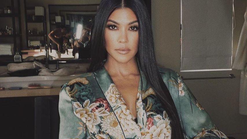 Fans sind ziemlich geflasht von Kourtney Kardashians Beinen