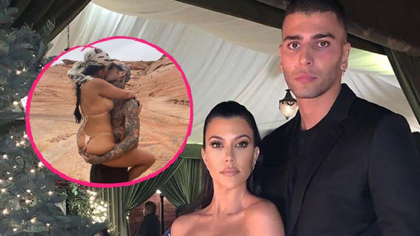 Macht sich Kourtneys Ex über sexy Fotos mit Travis lustig?