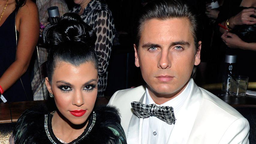 Kourtney Kardashian und Scott Disick im Februar 2011 in Las Vegas