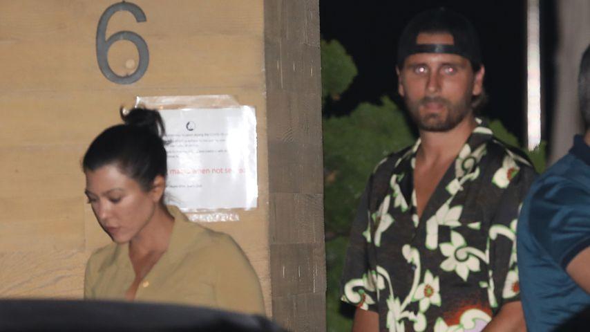 Kourtney Kardashian und Scott Disick bei Date abgelichtet
