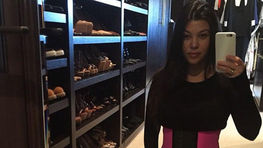 Korsett-Qual: Darauf schwört Kourtney Kardashian!