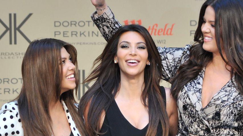 Kim vs. Kourtney: Kardashian-Riech-Test im Schritt