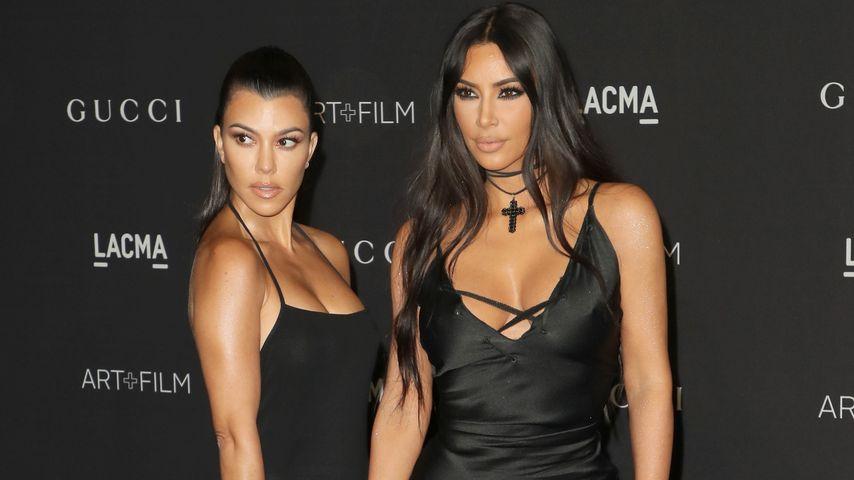 Kourtney und Kim Kardashian bei der LACMA Art+Film Gala 2018