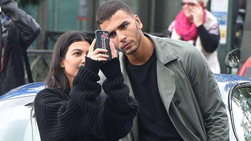 Kourtney Kardashian und Younes Bendjima in Paris