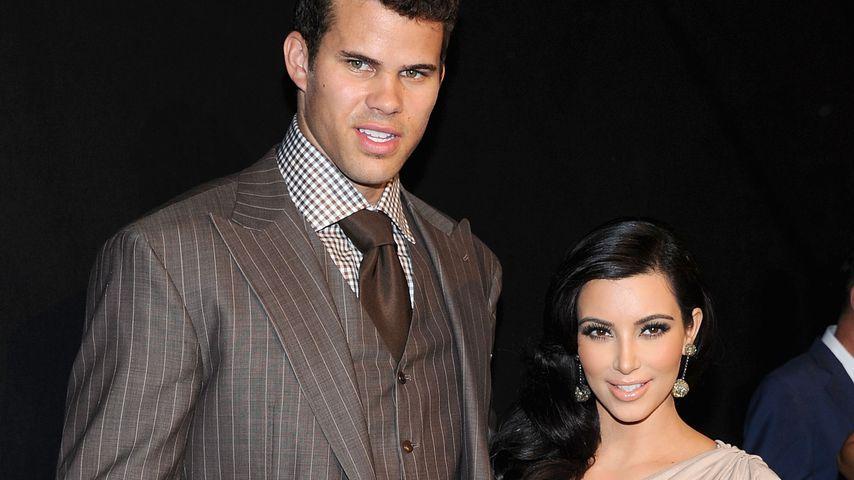 Kris Humphries und Kim Kardashian, August 2011