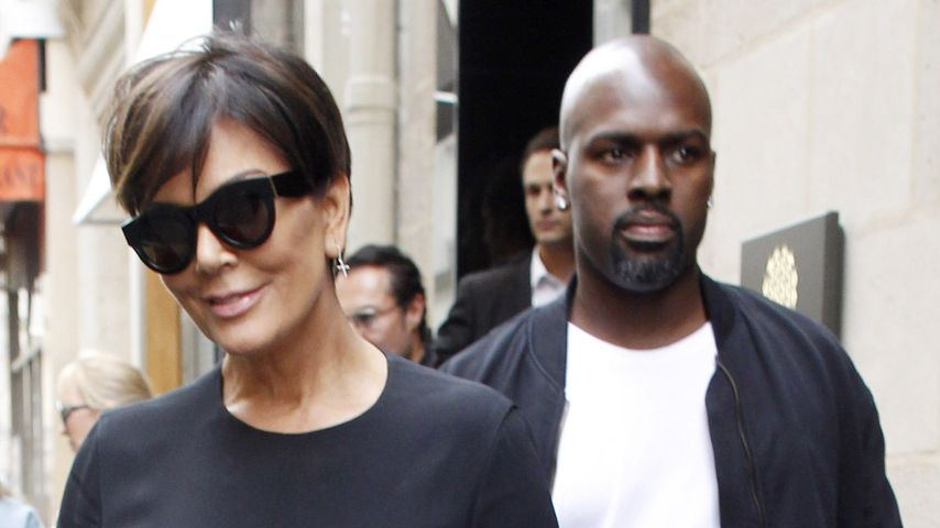 Kris Jenner und Corey Gamble in Paris