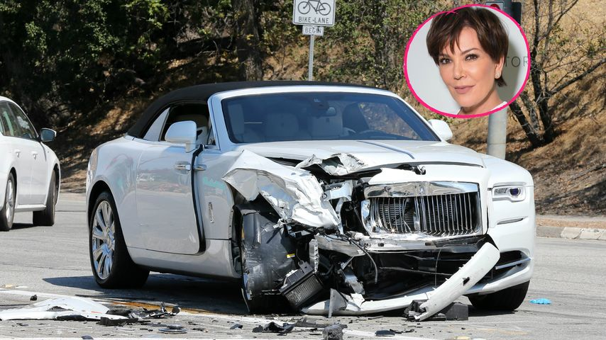 Horror-Crash-Bilder: So sieht Kris Jenners Rolls-Royce aus