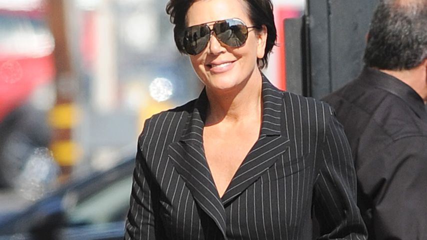 Kris Jenners Nadelstreifen-Fail: Business-Look geht anders!