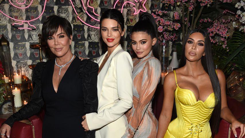Kris Jenner, Kendall Jenner, Kylie Jenner und Kim Kardashian
