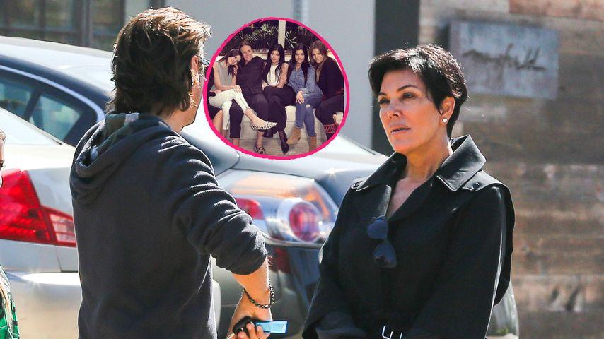 Familienfoto ohne Mama: Kris Jenner tobt vor Wut!