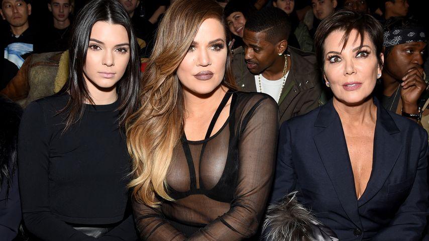 Khloe Kardashian, Kendall Jenner und Kris Jenner