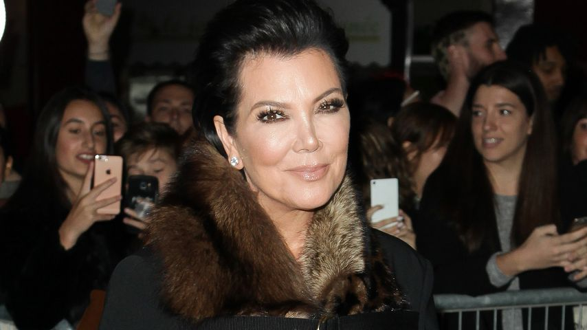 "Kris Jenner bei der ""Paris Fashion Week"""