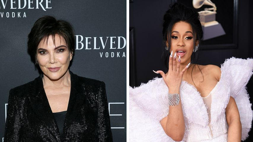 Bei Geburt: Wird Kris Jenner etwa Rapperin Cardi Bs Hebamme?