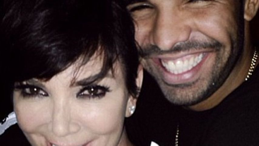 Macht sich Drake hier an Kris Jenner ran?