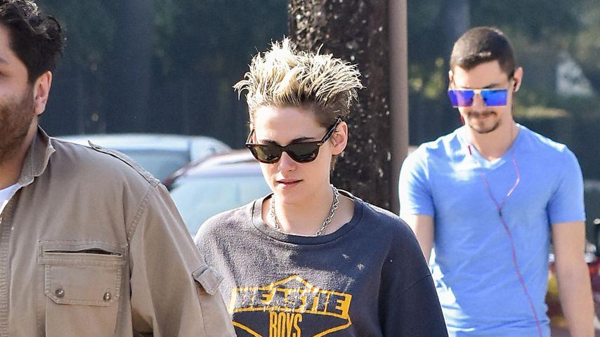 Trägt Kristen Stewart hier das Shirt von Ex Rob Pattinson?