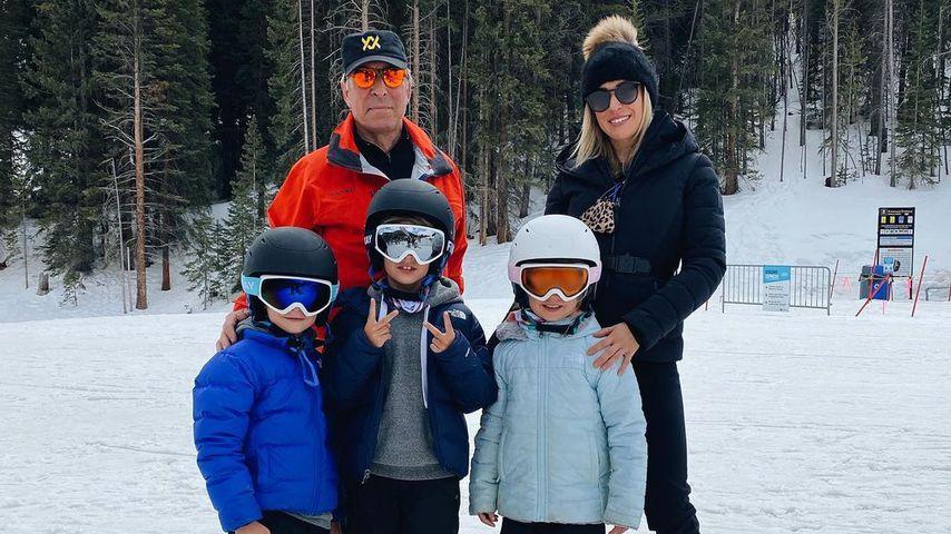 Kristin Cavallari mit ihrem Vater und ihren Kindern