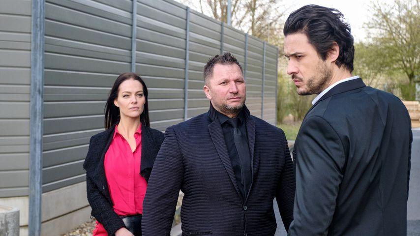 """Kristina Dörfer (Yvette von Crohn) und Alexander Milo (Jakob) bei """"Unter uns"""""""