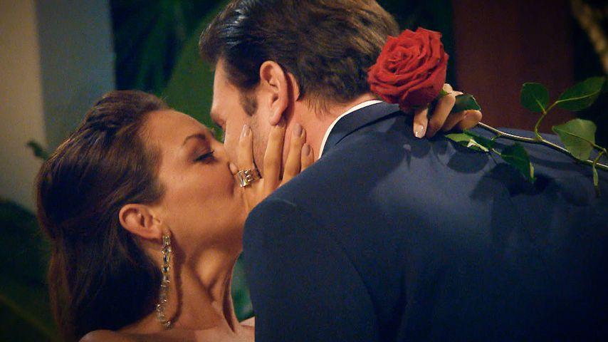 Kristina Yantsen und Daniel Völz im Bachelor-Finale