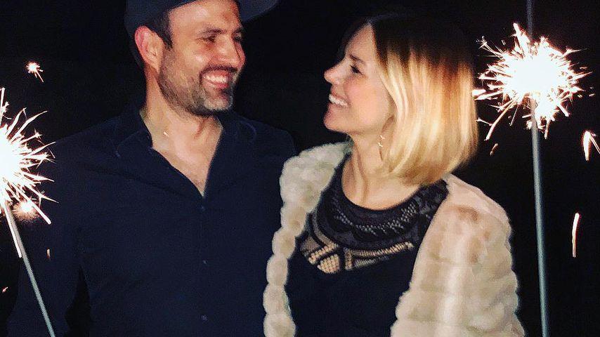 Kristof und Sandra Kuhn an Silvester 2018