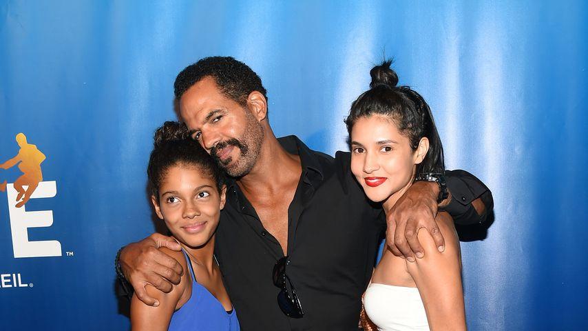 Kristoff St. John mit seinen Töchtern Lola und Paris