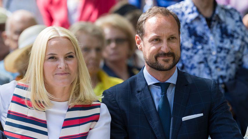 Kronprinzessin Mette-Marit und Kronprinz Haakon in Oslo