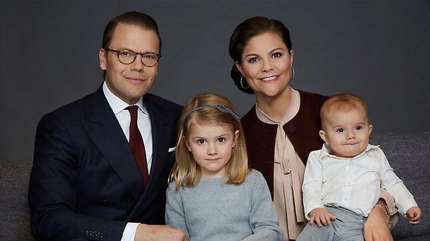 Kronprinzessin Victoria von Schweden und ihre Familie