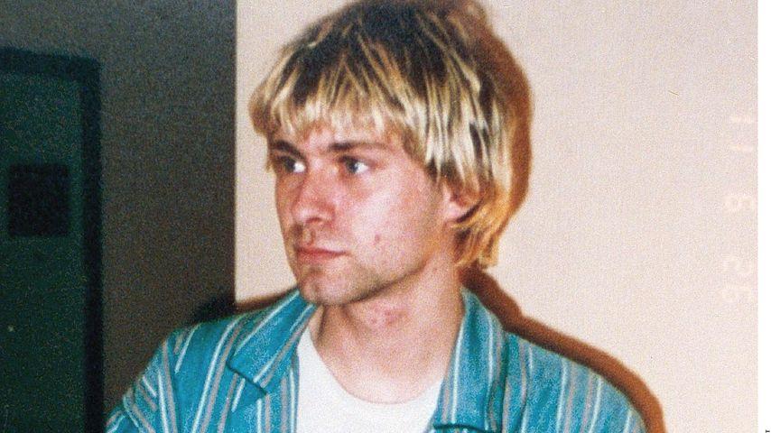 Kurt Cobain mit seiner Tochter Frances Bean 1992