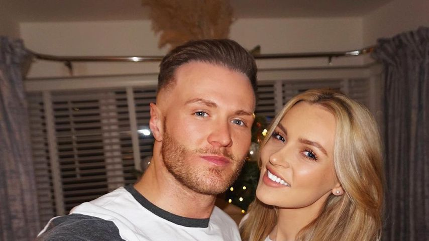 Kyle Christie und seine Freundin Vicky Turner