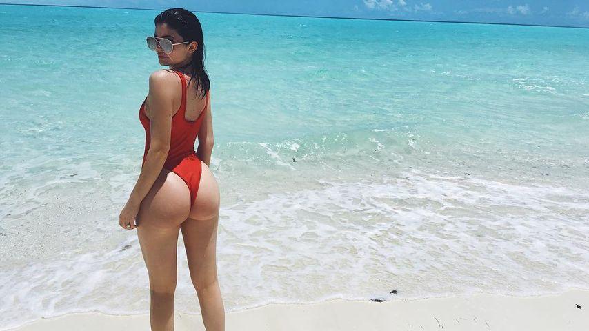 Kylie Jenner am Strand