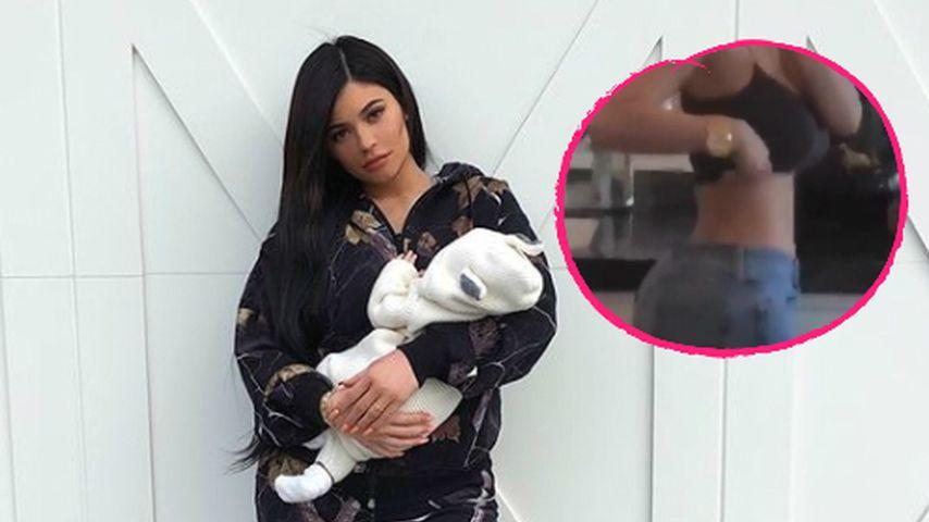 Acht Wochen nach Stormis Geburt: Kylie zeigt XXS-Taille!