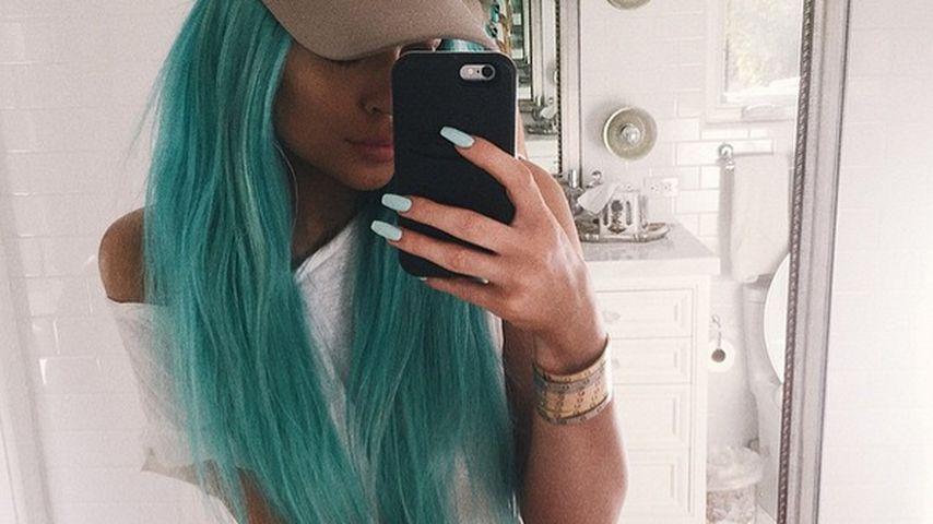 Style-Überraschung! Kylie Jenner plötzlich mit blauem Haar