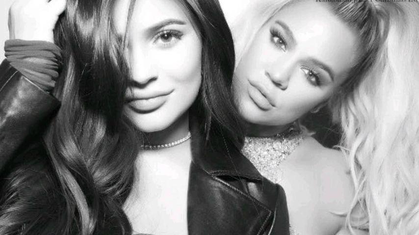Kylie Jenner und ihre Halbschwester Khloe Kardashian