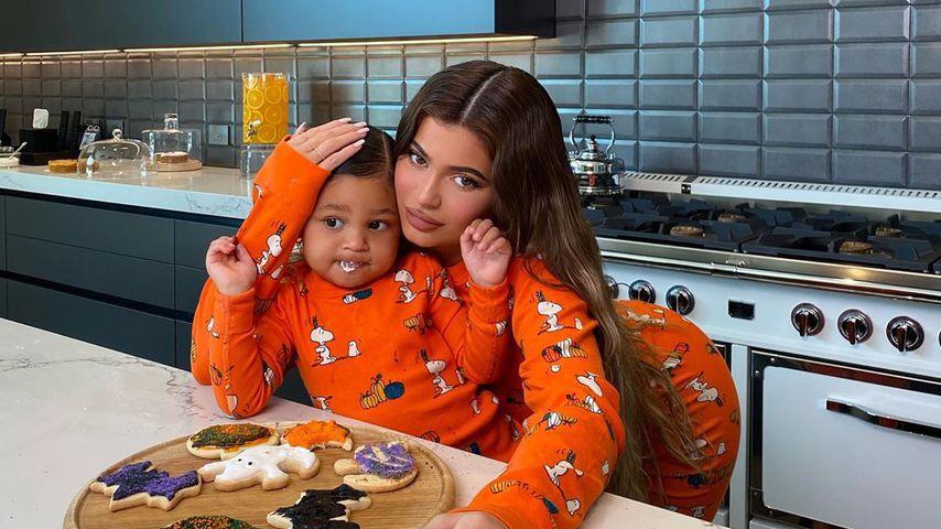 Kylie Jenner mit Tochter Stormi, Oktober 2020