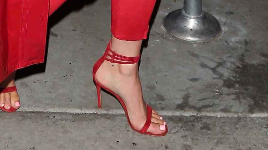 Kylie Jenner Fuß