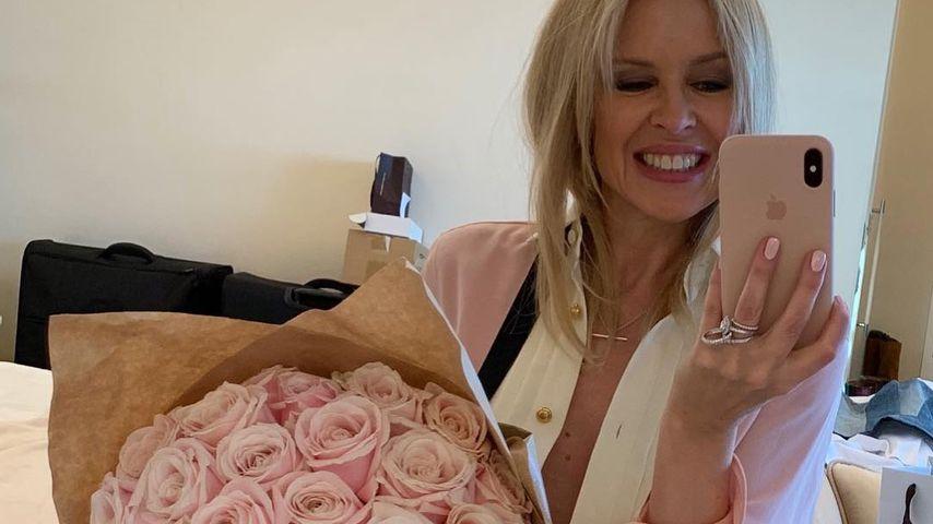 Kylie Minogue am Valentinstag