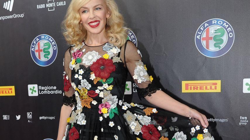 Blumiger Albtraum: Was soll dieses Kleid, Kylie Minogue?