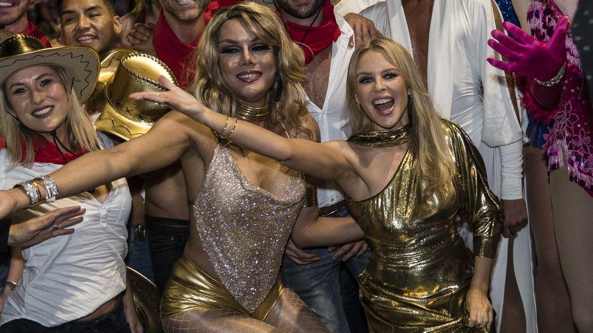 Kylie Minogue (r.), Musikerin