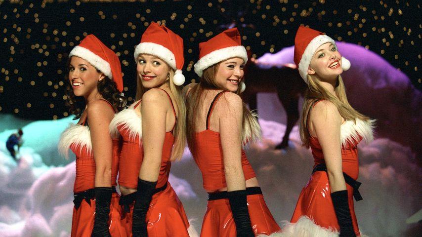 "Die ""Mean Girls"" Lacey Chabert, Rachel Mcadams, Lindsay Lohan und Amanda Seyfried"