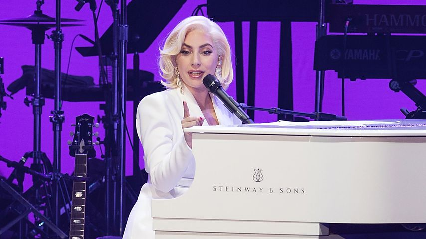 "Lady Gaga beim ""Deep From the Heart: The One America Appeal""-Charity-Konzert"