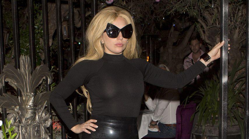 Latex-Bauch! Lady GaGa mit verdächtiger Babykugel unterwegs
