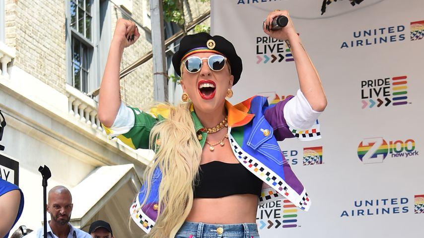 Statt Glastonbury: Lady Gaga überrascht in NYC mit Pride-Gig