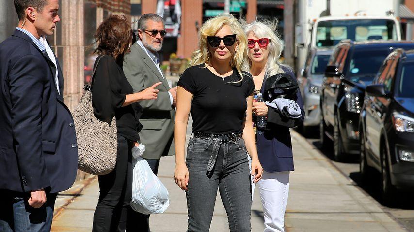 Lady GaGa mit ihrer Mutter Cynthia in New York