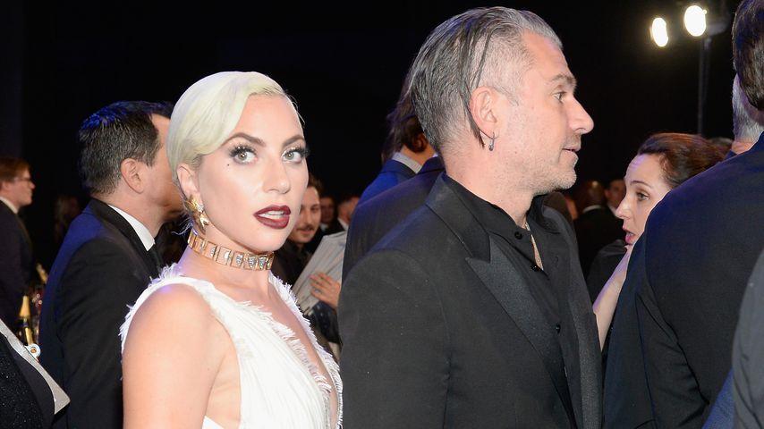 Lady Gaga und Christian Carino im Januar 2019 bei einem Event