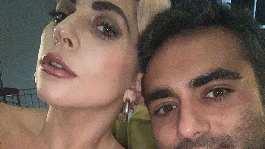 Lady Gaga und Michael Polansky im März 2020