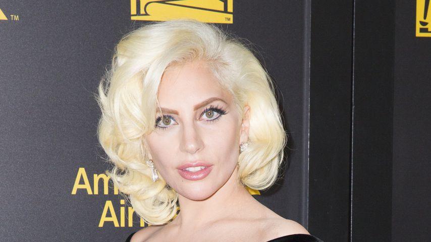 Lady Gaga bei der Verleihung der Golden Globe Awards im Jahr 2016