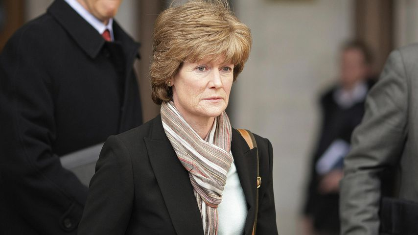 Lady Sarah McCorquodale, die Schwester von Prinzessin Diana, im April 2008